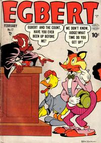 Cover Thumbnail for Egbert (Quality Comics, 1946 series) #17
