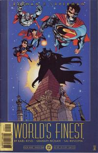 Cover Thumbnail for Batman and Superman: World's Finest (DC, 1999 series) #9