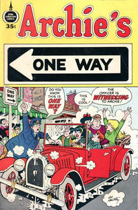 Cover Thumbnail for Archie's One Way (Fleming H. Revell Company, 1973 series)  [35-Cent Variant]