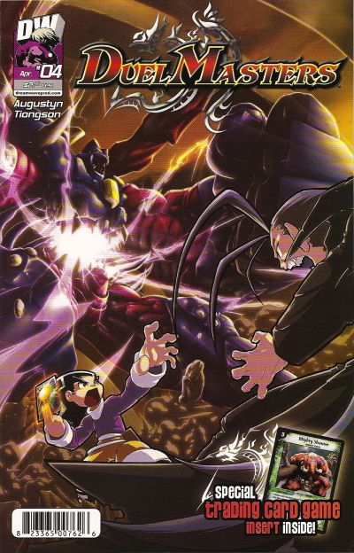 Cover for Duel Masters (Dreamwave Productions, 2003 series) #4