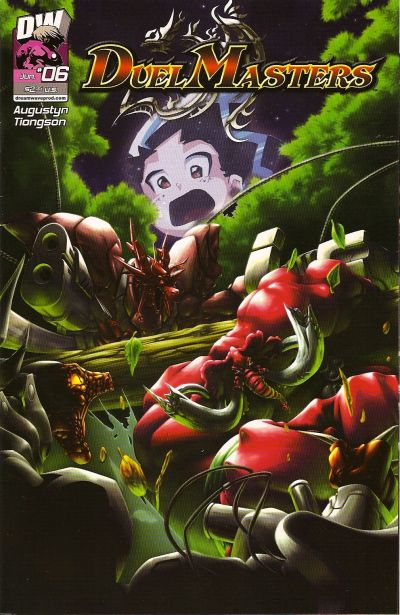 Cover for Duel Masters (Dreamwave Productions, 2003 series) #6