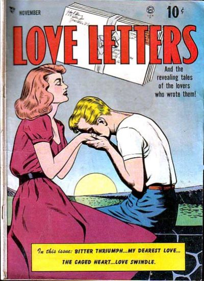 Cover for Love Letters (Quality Comics, 1949 series) #1