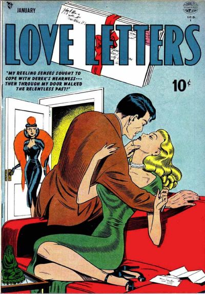 Cover for Love Letters (Quality Comics, 1949 series) #2