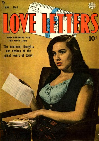 Cover for Love Letters (Quality Comics, 1949 series) #4