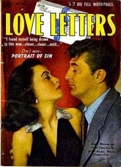 Cover for Love Letters (Quality Comics, 1949 series) #9