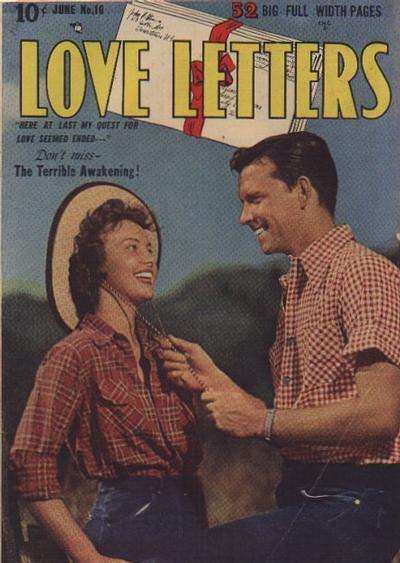 Cover for Love Letters (Quality Comics, 1949 series) #10
