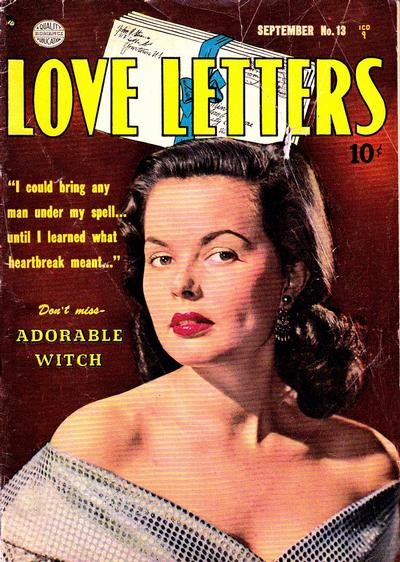 Cover for Love Letters (Quality Comics, 1949 series) #13