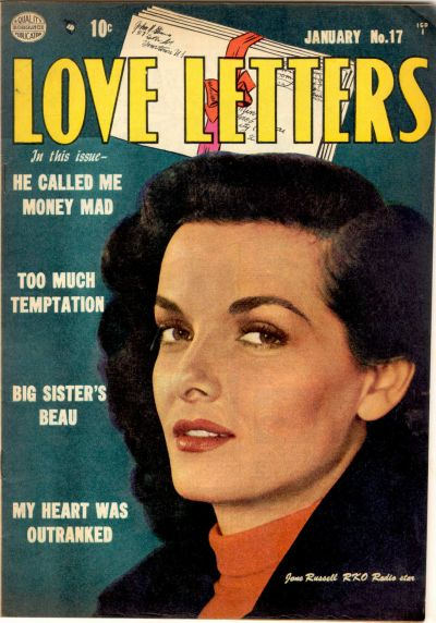 Cover for Love Letters (Quality Comics, 1949 series) #17
