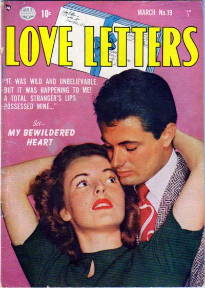 Cover for Love Letters (Quality Comics, 1949 series) #19