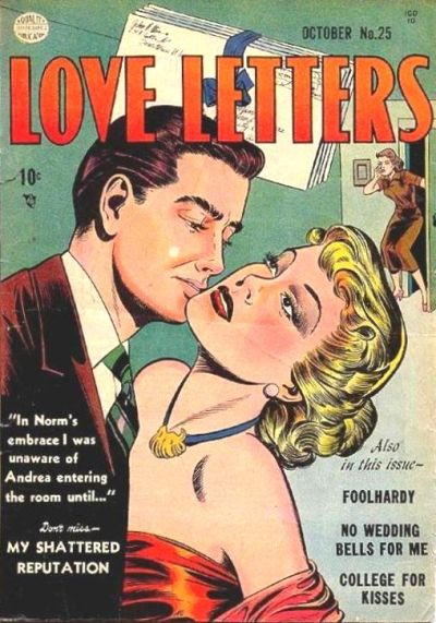 Cover for Love Letters (Quality Comics, 1949 series) #25