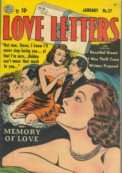 Cover for Love Letters (Quality Comics, 1949 series) #27