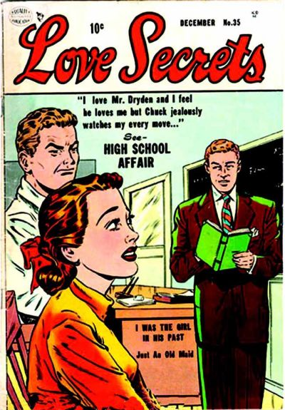 Cover for Love Secrets (Quality Comics, 1953 series) #35