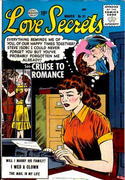 Cover for Love Secrets (Quality Comics, 1953 series) #51