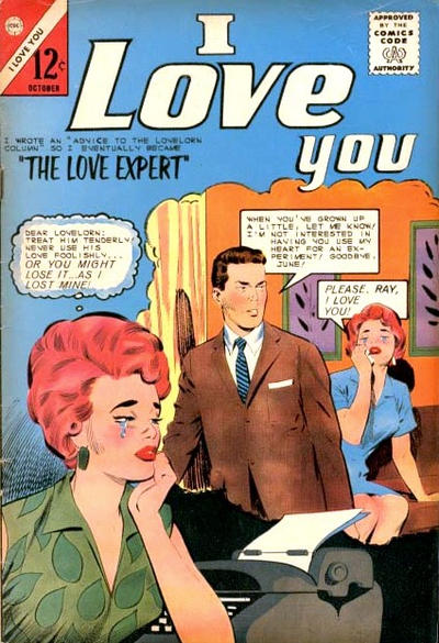 Cover for I Love You (Charlton, 1955 series) #53