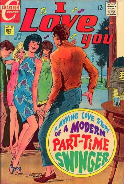 Cover for I Love You (Charlton, 1955 series) #75