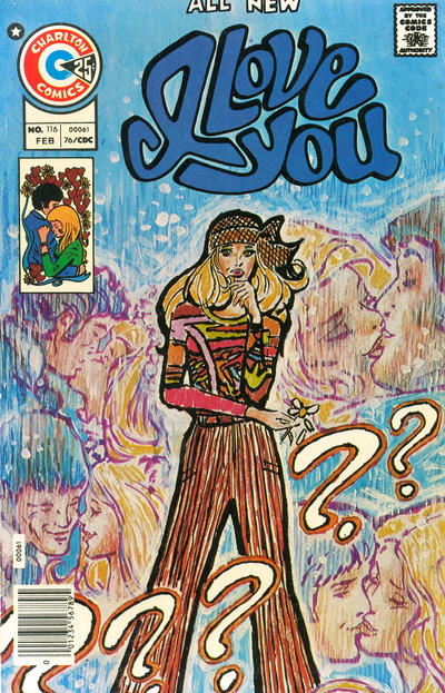 Cover for I Love You (Charlton, 1955 series) #116