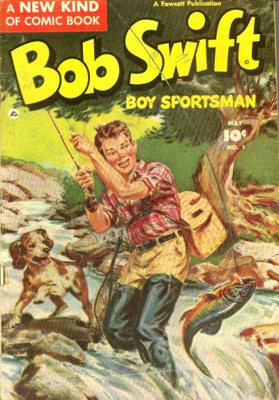 Cover for Bob Swift, Boy Sportsman (Fawcett, 1951 series) #1