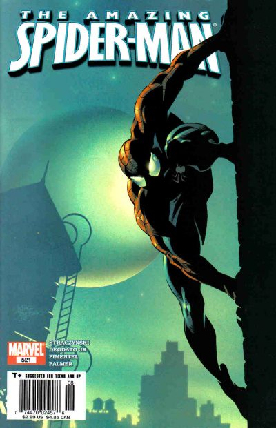 Cover for The Amazing Spider-Man (Marvel, 1999 series) #521 [Direct Edition]