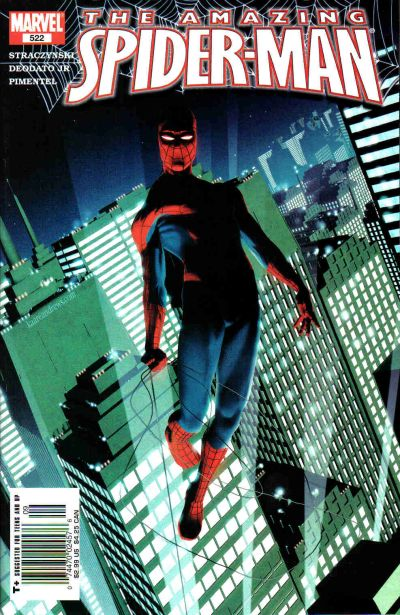 Cover for The Amazing Spider-Man (Marvel, 1999 series) #522 [Direct Edition]
