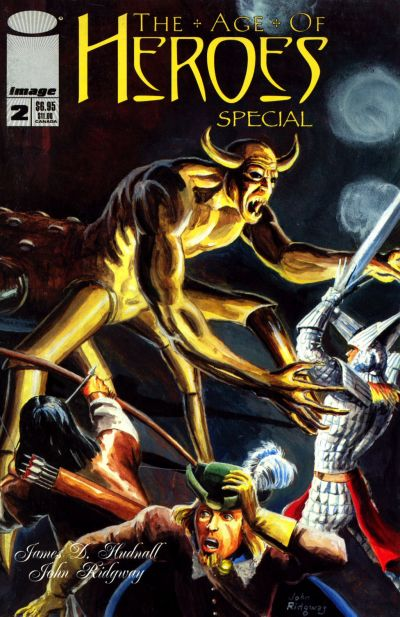 Cover for The Age of Heroes Special (Image, 1997 series) #2