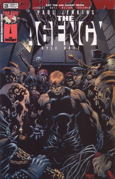 Cover for The Agency (Image, 2001 series) #3