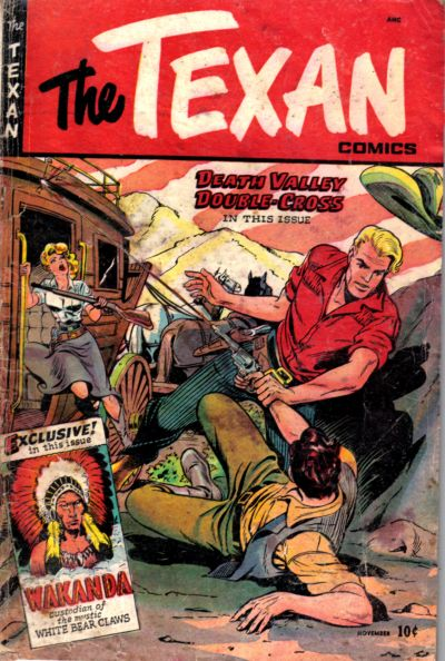 Cover for The Texan (St. John, 1948 series) #6