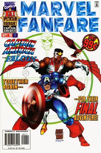 Cover for Marvel Fanfare (Marvel, 1996 series) #1