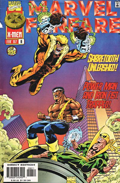 Cover for Marvel Fanfare (Marvel, 1996 series) #6