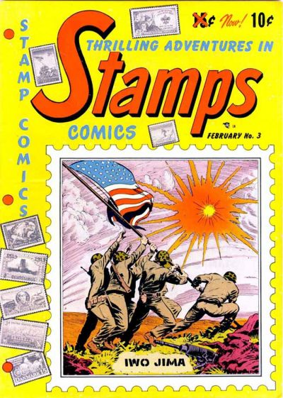 Cover for Stamps Comics (Youthful, 1951 series) #3