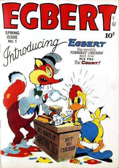 Cover for Egbert (Quality Comics, 1946 series) #1