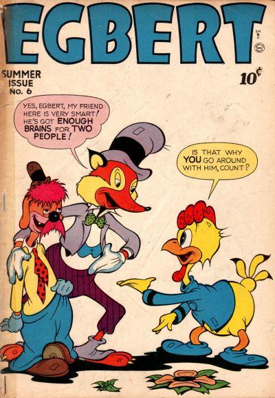 Cover for Egbert (Quality Comics, 1946 series) #6
