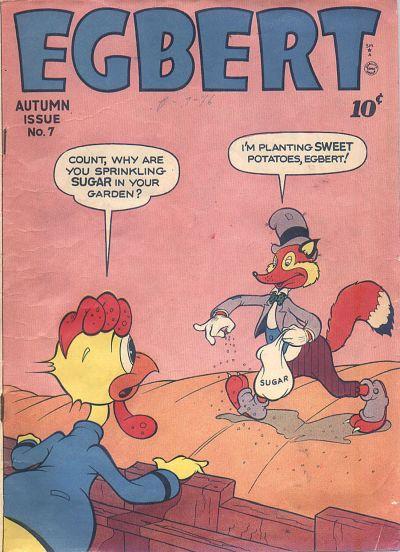 Cover for Egbert (Quality Comics, 1946 series) #7