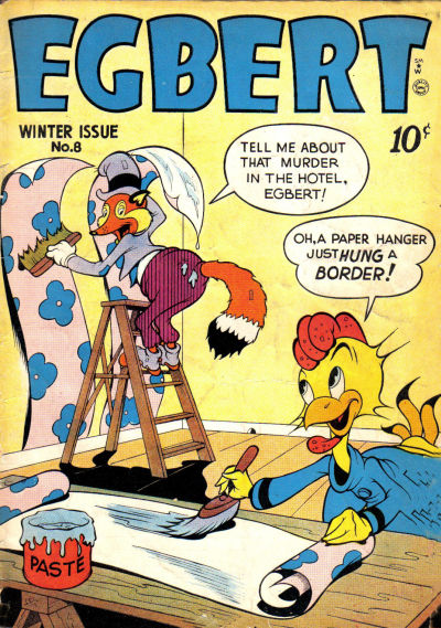 Cover for Egbert (Quality Comics, 1946 series) #8