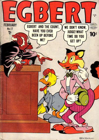 Cover for Egbert (Quality Comics, 1946 series) #17