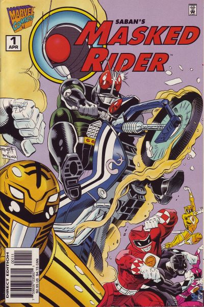 Cover for Masked Rider (Marvel, 1996 series) #1