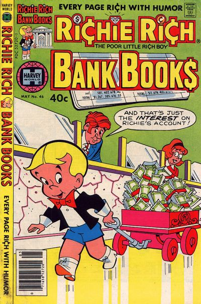 Cover for Richie Rich Bank Book (Harvey, 1972 series) #46