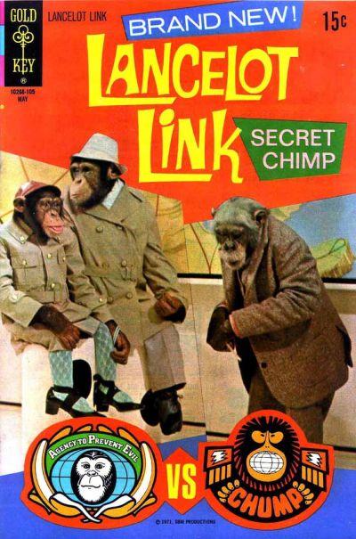 Cover for Lancelot Link, Secret Chimp (Western, 1971 series) #1