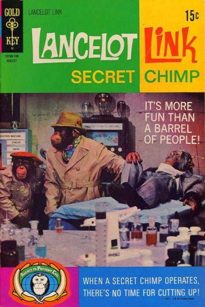 Cover for Lancelot Link, Secret Chimp (Western, 1971 series) #2