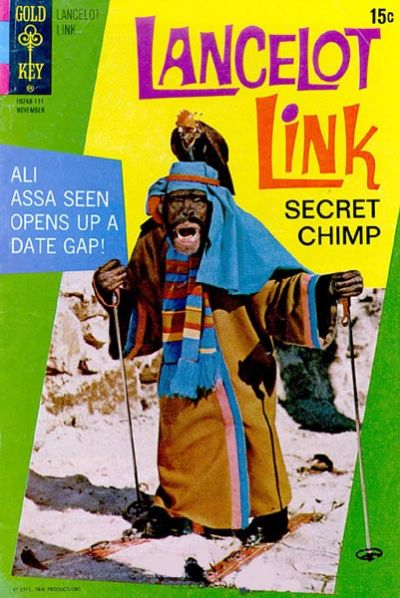 Cover for Lancelot Link, Secret Chimp (Western, 1971 series) #3