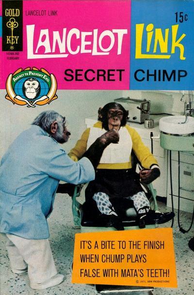 Cover for Lancelot Link, Secret Chimp (Western, 1971 series) #4 [Gold Key]