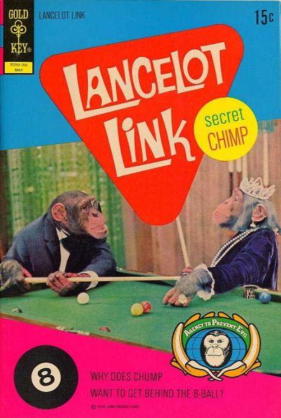 Cover for Lancelot Link, Secret Chimp (Western, 1971 series) #5 [Gold Key Variant]