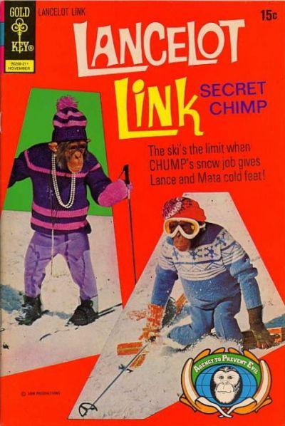 Cover for Lancelot Link, Secret Chimp (Western, 1971 series) #7