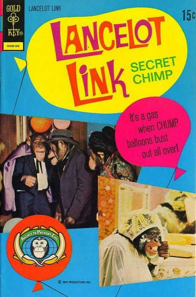 Cover for Lancelot Link, Secret Chimp (Western, 1971 series) #8