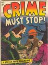 Cover for Crime Must Stop (Hillman, 1952 series) #v1#1