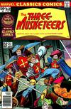 Cover for Marvel Classics Comics (Marvel, 1976 series) #12 - The Three Musketeers