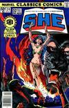 Cover for Marvel Classics Comics (Marvel, 1976 series) #24 - She