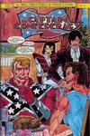 Cover for Captain Confederacy (SteelDragon Press, 1986 series) #4 [Regular Edition]