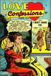 Cover for Love Confessions (Quality Comics, 1949 series) #32