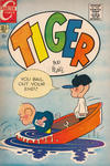 Cover for Tiger (Charlton, 1970 series) #3