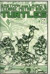 Cover for Teenage Mutant Ninja Turtles (Mirage, 1984 series) #4
